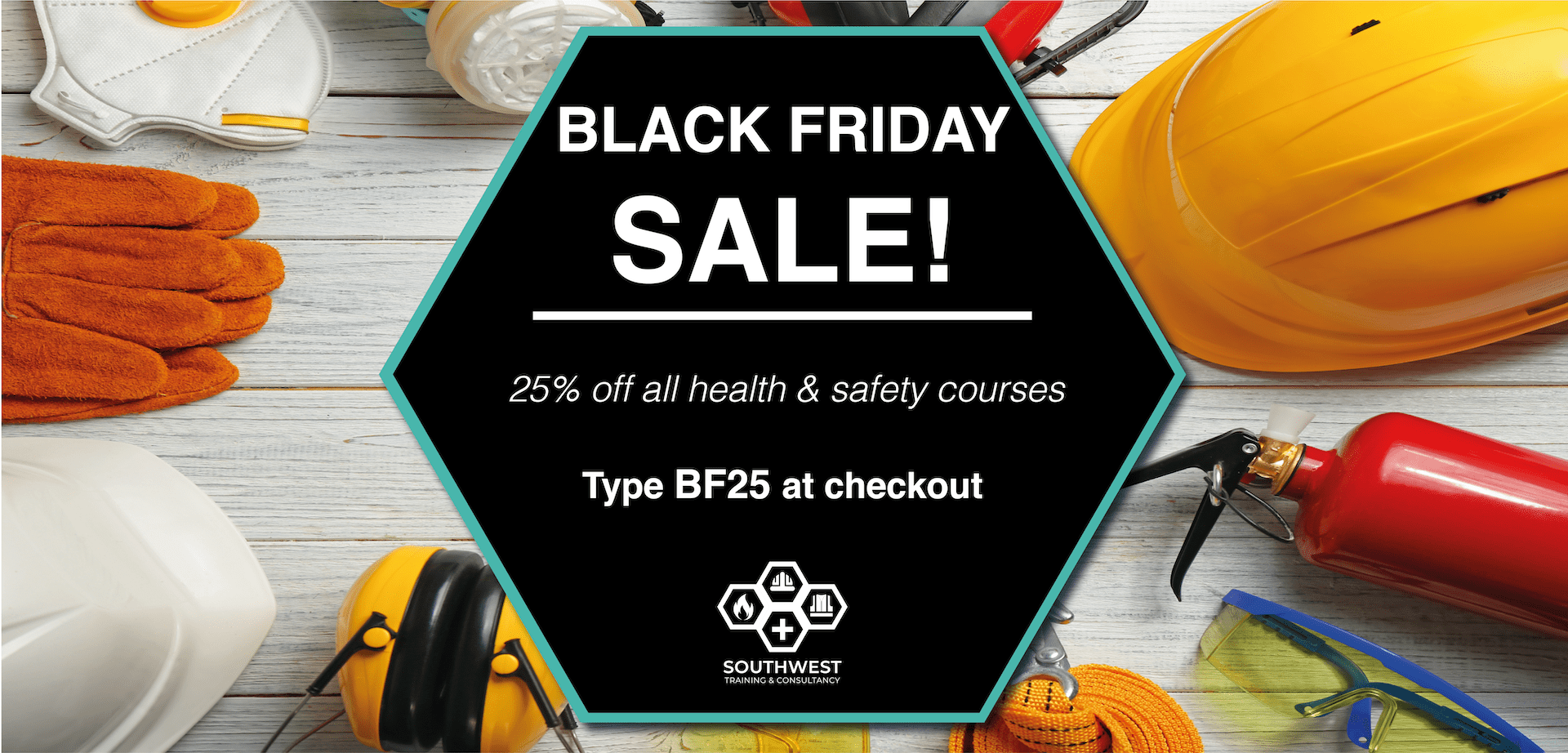 Black Friday sale health and safety courses